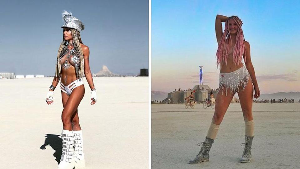 While nudity is definitely a part of Burning Man life, you may be disappointed to hear it's not the sex-fest people believe. Source: Instagram/danacakester/warrioress