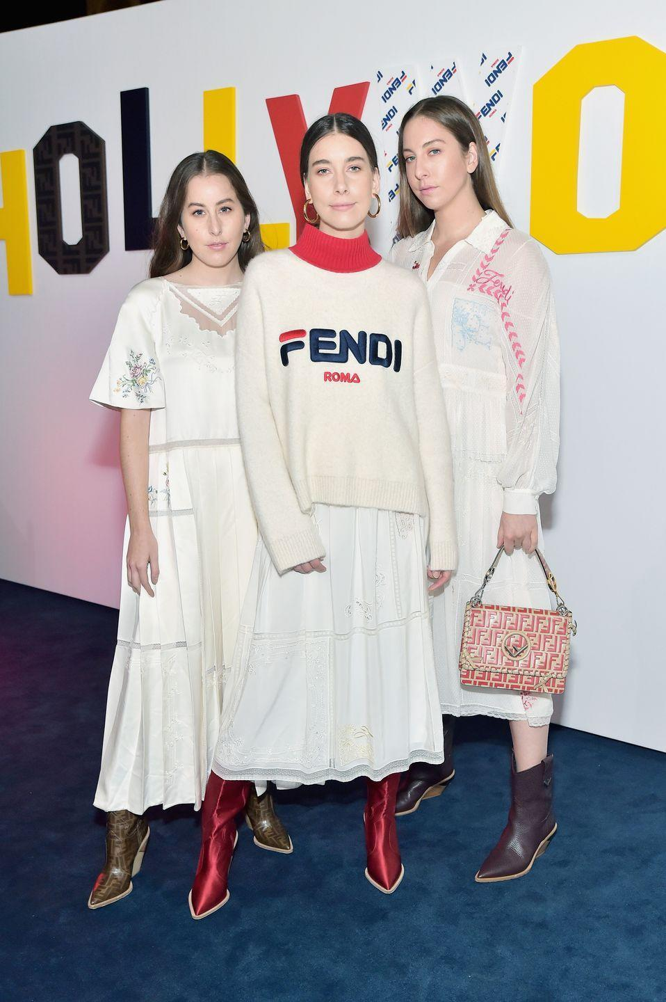 <p>The Haim sisters have a lot more in common then just music. All three have similar features, despite being different ages. Although they're often referred to as one unit, their ages range from 28 to 34. </p>