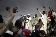 The protest movement has coalesced around a conservative Saudi-trained imam, Mahmoud Dicko