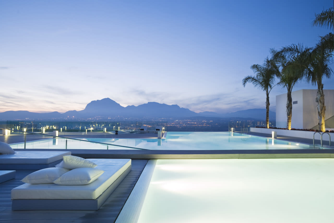 "<p>Built into Southeast Spain's Sierra Helada Mountains on the bay of Altea, this <a href=""http://shawellnessclinic.com/en"">luxury wellness resort</a> blends ancient Oriental therapies with the latest in Western techniques. Specific programs focus on anti-stress, sleep recovery and detox and weight loss. <i>(Photo: Courtesy of Sha Wellness)</i></p>"
