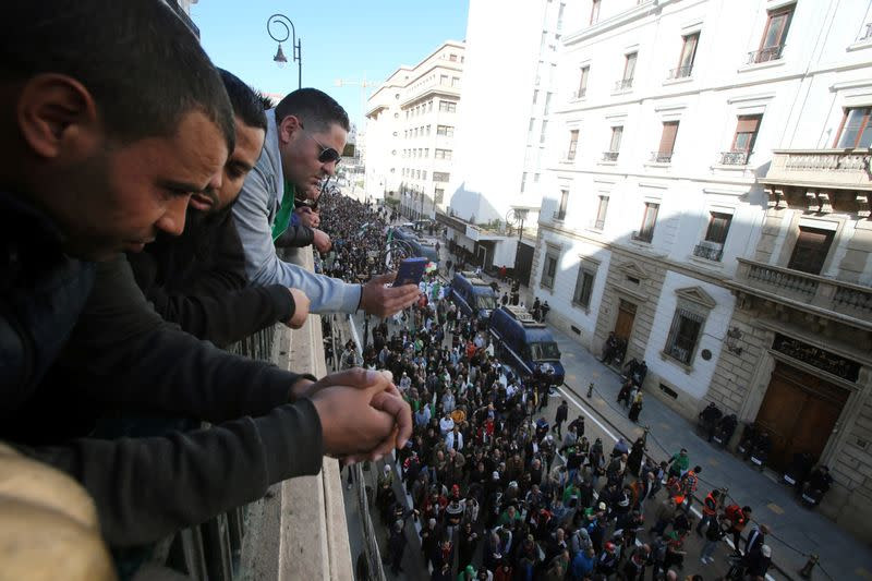 Timeline: Algeria's year of protest and turmoil