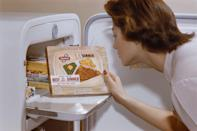 <p>With take-out culture on the rise and TV dinners available in every grocery store, people began eating out less in the '60s. To combat the trend, restaurants enlisted advertisers to sell the idea that eating out was a fun and special experience.</p>