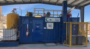 US Ecology's first ART unit celebrated its inaugural run earlier this summer and has since been operating 24/7 out of its Beatty, NV facility. This 100% sustainable solution for aerosol waste produces recyclable metal, reusable alternative and liquid fuels and is landfill free with zero emissions.