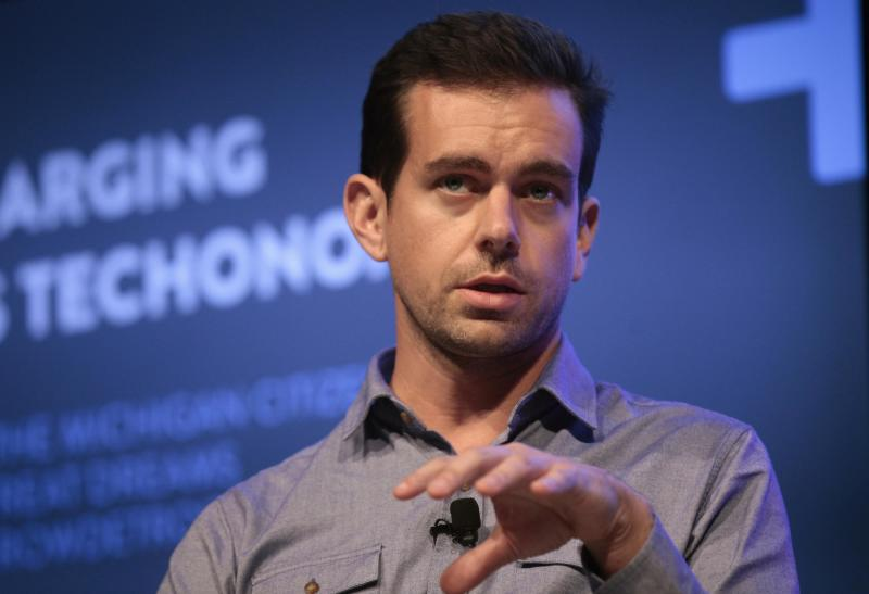 Jack Dorsey, chairman of Twitter and CEO of Square, takes part in the Techonomy Detroit panel discussion held at Wayne State University in Detroit, Michigan September 17, 2013. REUTERS/Rebecca Cook (UNITED STATES - Tags: BUSINESS SCIENCE TECHNOLOGY)