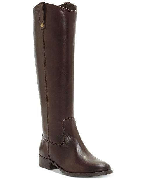 """<p>Riding boots are back this season, and we want these chocolate brown <a href=""""https://www.popsugar.com/buy/INC-Fawne-Wide-Calf-Riding-Boots-498305?p_name=I.N.C.%20Fawne%20Wide-Calf%20Riding%20Boots&retailer=macys.com&pid=498305&price=180&evar1=fab%3Aus&evar9=46720231&evar98=https%3A%2F%2Fwww.popsugar.com%2Fphoto-gallery%2F46720231%2Fimage%2F46720243%2FINC-Fawne-Wide-Calf-Riding-Boots&list1=shopping%2Cfall%20fashion%2Cshoes%2Cboots%2Cfall%2Cfall%20shoes%2Cmacys%2Cwide%20feet&prop13=api&pdata=1"""" rel=""""nofollow"""" data-shoppable-link=""""1"""" target=""""_blank"""" class=""""ga-track"""" data-ga-category=""""Related"""" data-ga-label=""""https://www.macys.com/shop/product/i.n.c.-fawne-wide-calf-riding-boots-created-for-macys?ID=4828744&amp;CategoryID=25122&amp;sizes=WOMEN_SHOE_WIDTH_SIZE_T!!Wide;;Extra%20Wide#fn=SIZE%3DWOMEN_SHOE_WIDTH_SIZE_T%3AWide%7CExtra%20Wide"""" data-ga-action=""""In-Line Links"""">I.N.C. Fawne Wide-Calf Riding Boots</a> ($180) ASAP.</p>"""