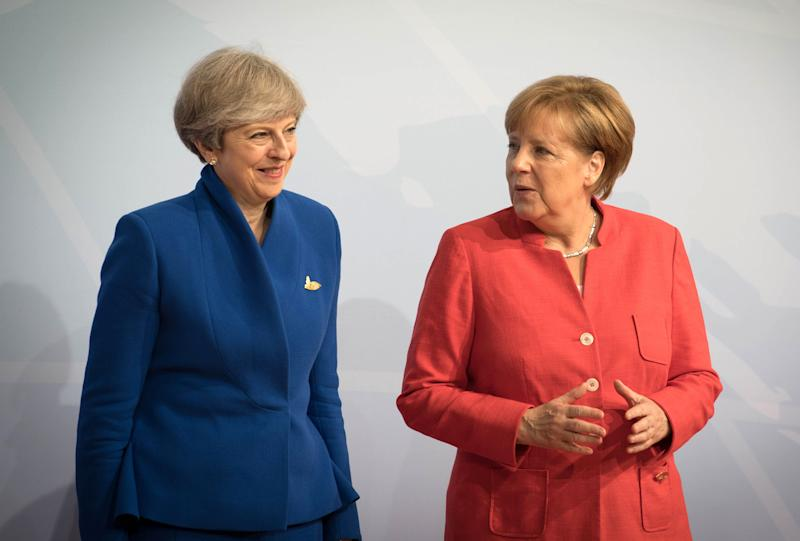 Theresa May and Angela Merkel (PA Wire/PA Images)