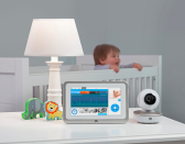 """<p>Every year sees a new bit of 'it' kit that inventors hope will become indispensible to parents and next year is no different. Earlier this year we saw the introduction of the world's first smart crib, which will monitor your baby's sleep patterns and rock it back to sleep when it detects he's about to wake up, and now Motorola are set to take things a stage further with their smart nursery range – a suite of six connected products, including a wi-fi baby cam monitor, tablet, scales, humidifier, dream machine and door alarm senors, that make up the worlds most intelligent baby nursery. Accessible through the Hubble application, the nursery will give parents access to useful information about their newborn. Dino Lalvani, Chairman of Binatone Global said: """"Today's technology helps to capture, analyse and inform all of us, to help make the best decisions. Being able to enrich baby care in this way by providing this level of intelligence to your smartphone is a connected experience that we are very proud of and an innovation which leads the way in the future of nursery."""" [Photo: John Lewis/Motorola] </p>"""