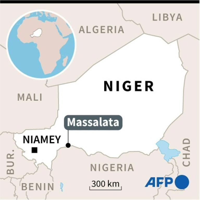 The hostage, Philip Walton, described as the son of a missionary living in Niger, was abducted Monday night on the outskirts of Massalata.
