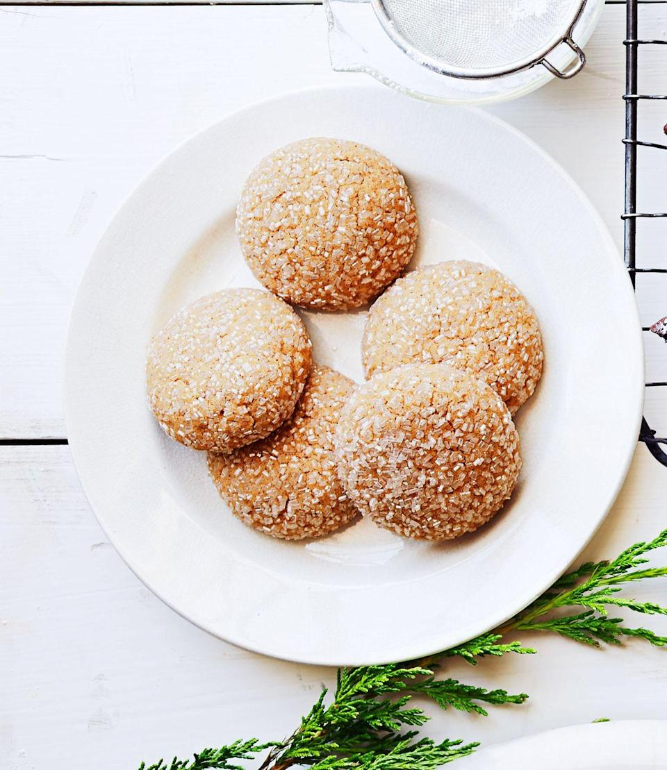 """<p>Sometimes a little spice adds a whole lot of sophistication. These adorable cookies are a great example.</p><p><em><a href=""""https://www.goodhousekeeping.com/food-recipes/a14972/spiced-drops-recipe-ghk1214/"""" rel=""""nofollow noopener"""" target=""""_blank"""" data-ylk=""""slk:Get the recipe for Spiced Drops »"""" class=""""link rapid-noclick-resp"""">Get the recipe for Spiced Drops »</a></em></p>"""