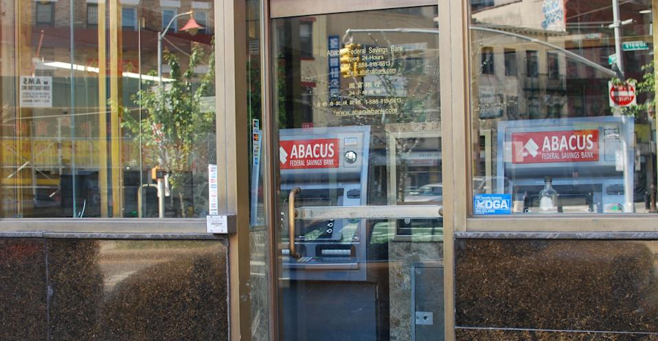 Abacus Federal Savings Bank says it will hold onto its PPP loans but could access the Federal Reserve's liquidity facility if it needs funding. The Fed has offered to take up bank-originated PPP loans as collateral at face value. Photo: Brian Cheung / Yahoo Finance