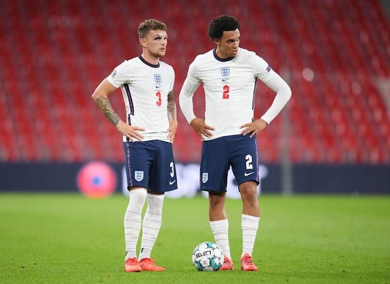 England's starting right-back is up for debateGetty Images