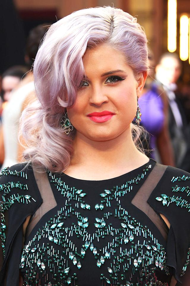 Kelly Osbourne arrives at the 84th Annual Academy Awards in Hollywood, CA.