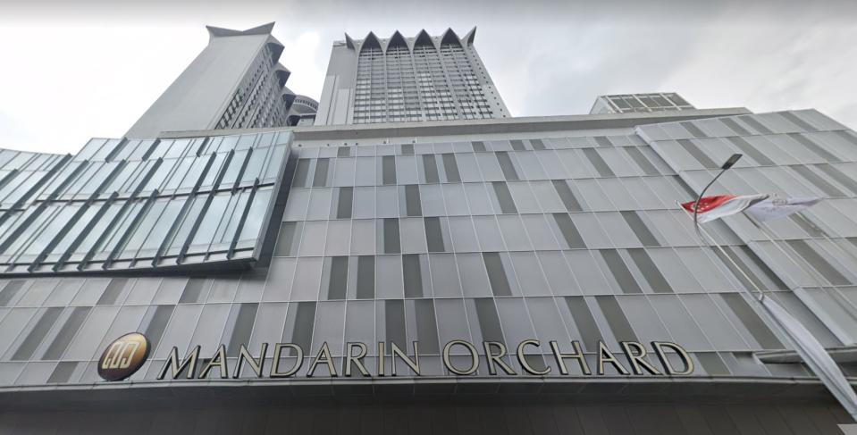 Mandarin Orchard Singapore hotel. (PHOTO: Screenshot/Google Maps)
