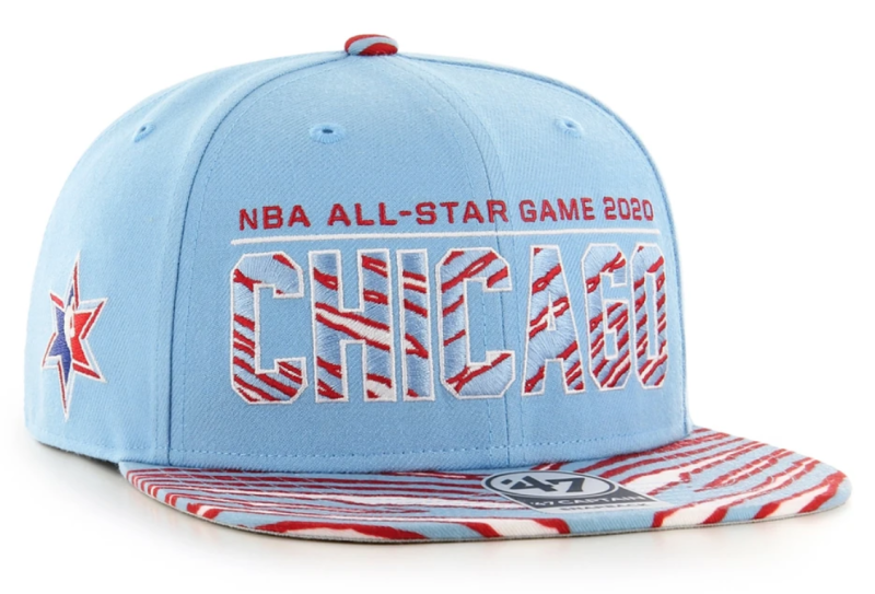 NBA All-Star Game Zubaz Multiplex '47 Captain Hat