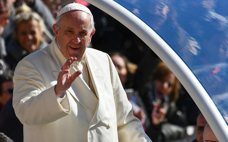 Pope Francis will arrive in Dublin on Saturday, August 25 - AFP
