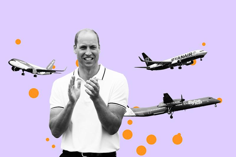 Why Does Prince William Love Flying on Budget Airlines? A Royal Investigation