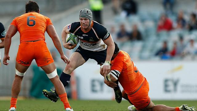 Nicolas Sanchez kicked two conversions and a pair of penalties to secure the Jaguares a 25-20 victory over the Brumbies in Super Rugby.