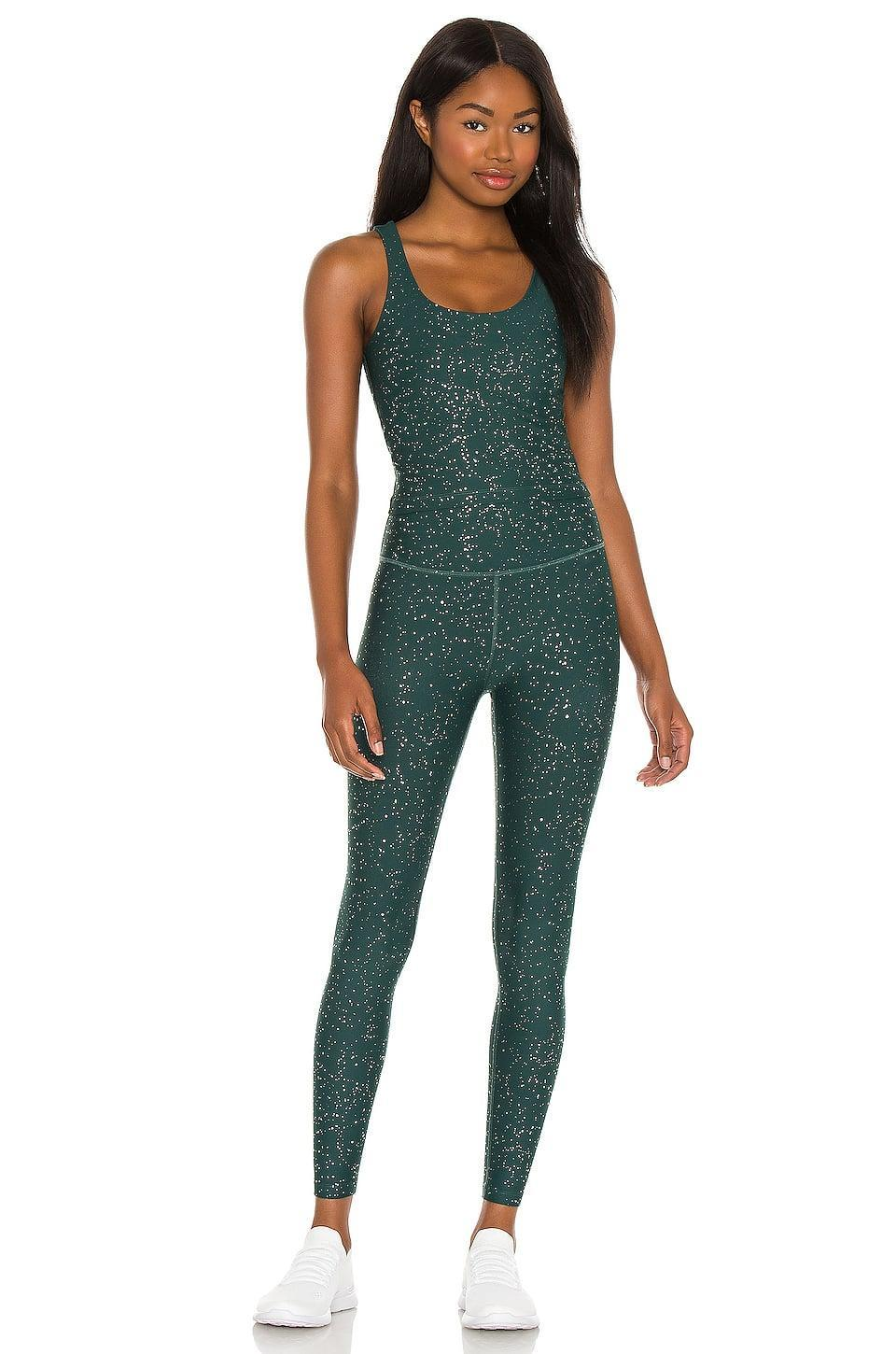 <p>This <span>Beyond Yoga Alloy Sparkle Keep it Simple Cropped Tank</span> ($72) and <span>HW Midi Legging</span> ($99) is the kind of motivation that will get them moving.</p>