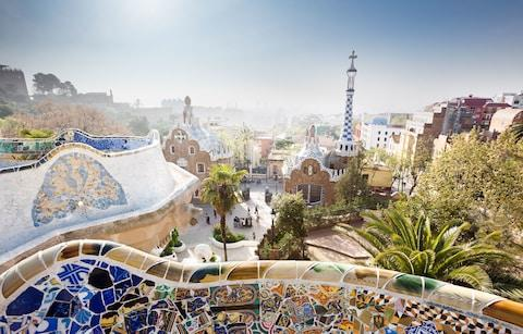 Park Guell, Barcelona - Credit: Getty