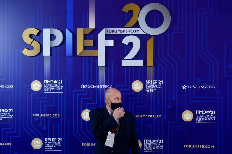Attendance at the Saint Petersburg International Economic Forum was capped at 5,000 people compared to 19,000 in 2019.