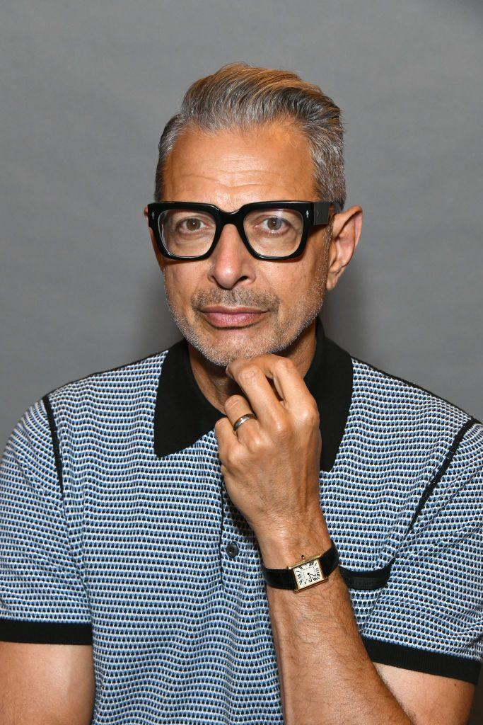 <p>Rather than fight against the inevitable, Goldblum went full silver fox in the recent years. We think it was the right call.</p>