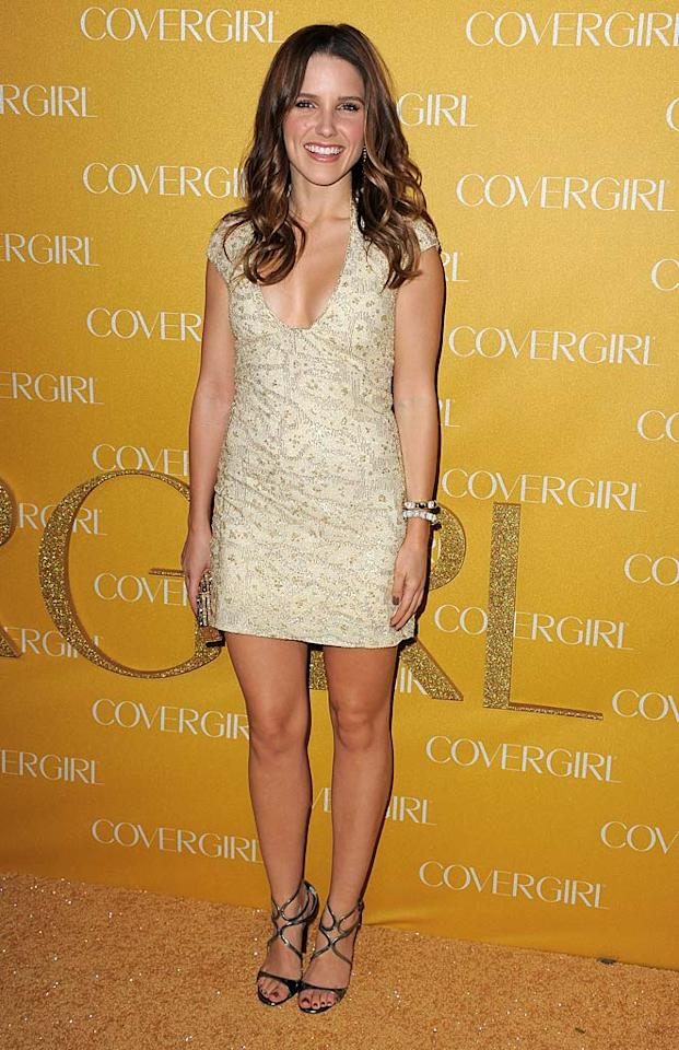 "Also in attendance at the star-studded CoverGirl soiree ... ""One Tree Hill"" hottie Sophia Bush, who dressed to impress in a bedazzled Pamela Roland mini, Jimmy Choos, and Vhernier baubles. Jordan Strauss/<a href=""http://www.wireimage.com"" target=""new"">WireImage.com</a> - January 5, 2011"