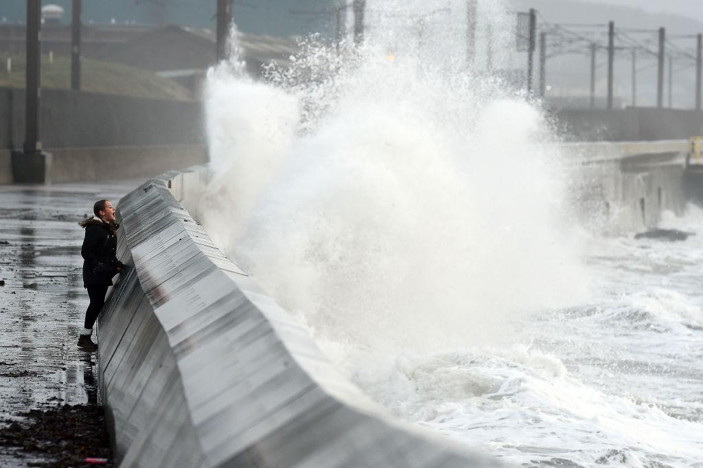 """<p><span>While nothing near the scale of Hurricane Irma that devastated parts of the Caribbean in September, Storm Ophelia, which was downgraded from hurricane strength before it hit the UK in OCtober, still took its toll. It </span><a rel=""""nofollow"""" href=""""https://uk.news.yahoo.com/met-office-warms-potential-danger-life-ex-hurricane-ophelia-hits-british-isles-075146215.html""""><span>killed three people</span></a><span> in Ireland and caused extensive damage across the UK. It also brought Saharan dust with it, turning skies over the UK an </span><a rel=""""nofollow"""" href=""""https://uk.news.yahoo.com/london-sky-turns-yellow-storm-blows-saharan-dust-152702611.html""""><span>unusual shade of yellow</span></a><span>. </span> </p>"""