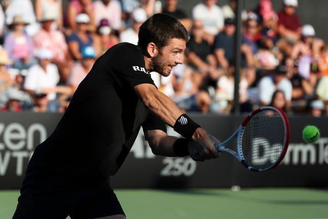 Cameron Norrie reached his fifth final of the season in San Diego