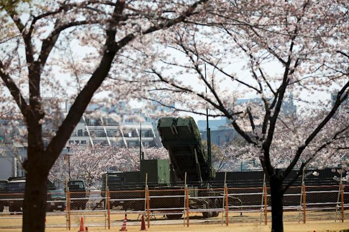 Japan has surface-to-air missile batteries in Tokyo as a defence against North Korean attack (AFP Photo/Behrouz MEHRI)