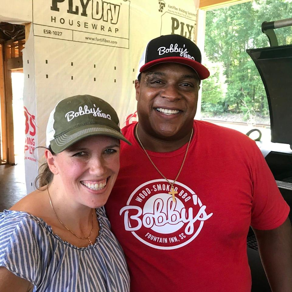 """Sarah and Octavius """"Tay"""" Nelson, owners of Bobby's BBQ in Fountain Inn."""