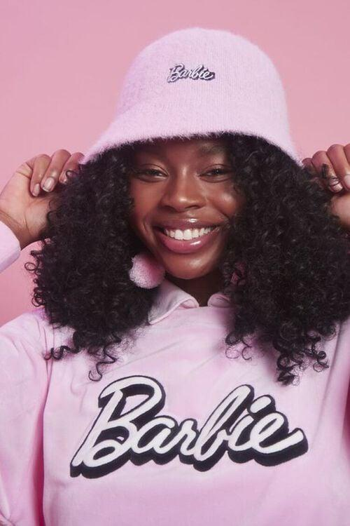 <p>This <span>Fuzzy Knit Barbie Bucket Hat</span> ($15) is a cute throwback.</p>