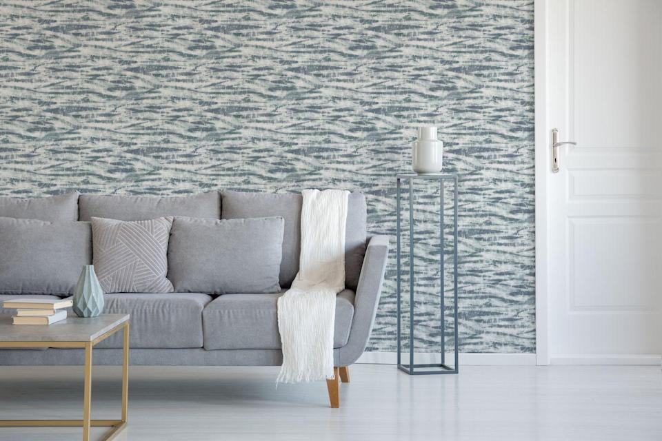 "<p><strong>Rhythm Ocean Wallpaper, £40 </strong></p><p><a class=""link rapid-noclick-resp"" href=""https://go.redirectingat.com?id=127X1599956&url=https%3A%2F%2Fwww.homebase.co.uk%2Fhouse-beautiful-rhythm-ocean-wallpaper%2F12945380.html&sref=https%3A%2F%2Fwww.redonline.co.uk%2Finteriors%2Feasy-to-steal-ideas%2Fg36273018%2Fhomebase-wallpaper%2F"" rel=""nofollow noopener"" target=""_blank"" data-ylk=""slk:BUY NOW"">BUY NOW</a></p>"