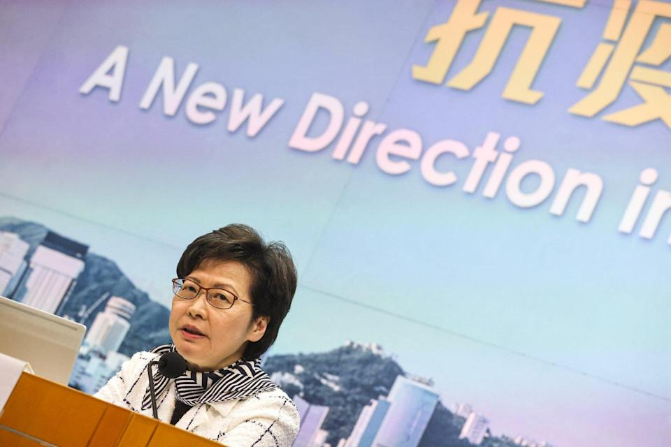 Chief Executive Carrie Lam. Photo: K. Y. Cheng