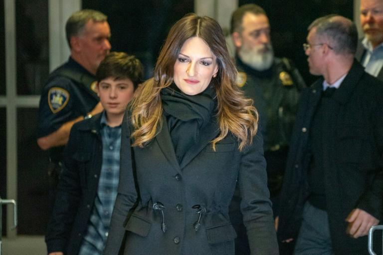 Donna Rotunno, one of Weinstein's defense attorneys, urged jurors never to 'let your emotion cloud your intellect' (AFP Photo/David Dee Delgado)