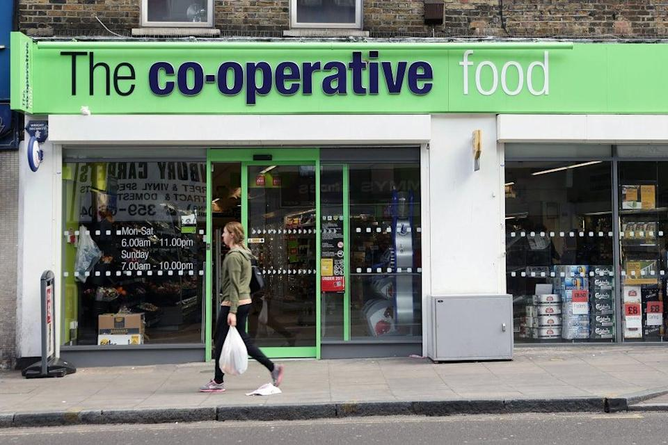 The Co-op warned over pressure on full-year profits from the supply chain crisis as the group revealed it swung to a half-year loss (Yui Mok/PA) (PA Archive)