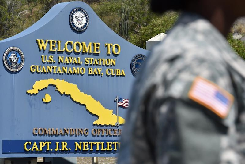A total of 91 suspected jihadists remain at Guantanamo, a prison that once housed about 700 inmates at its peak (AFP Photo/Mladen Antonov)