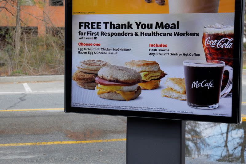 McDonald's profit sinks as coronavirus slams sales