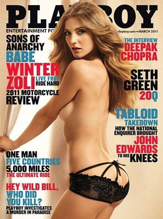 <p><strong>Issue: </strong>March 2011</p><p>Winter Zoli wore the sexiest pair of black lace panties for her cover. </p>