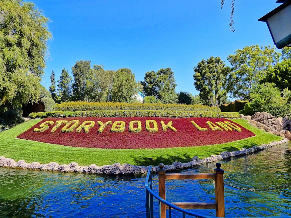 <p>This relaxing open-air attraction offers its passengers a guided boat trip through miniature landscapes focusing on popular Disney tales such as Snow White and the Seven Dwarves, Elsa's ice palace from <strong>Frozen</strong>, and Toad Hall from <strong>The Adventures of Ichabod and Mr. Toad</strong>. As the boat calmly winds its way through the canals, it's a wonderful time to retell each story. Tip: My little guy loves this ride in the evening when all the models are aglow with tiny lights.</p>