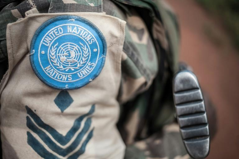 This is the latest in a series of allegations of sexual crimes involving peacekeepers (AFP/FLORENT VERGNES)