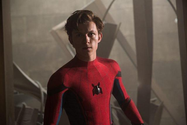 Tom Holland stars as Spider-Man/Peter Parker (Photo: Sony Pictures)