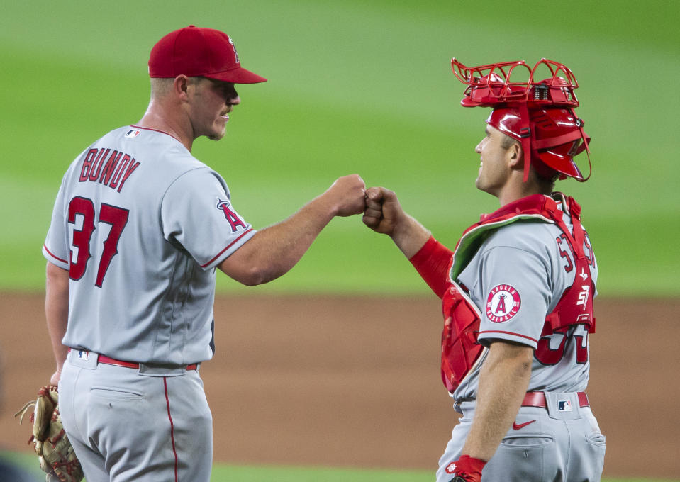 Dylan Bundy has been one of the bright spots for the Angels. (Photo by Lindsey Wasson/Getty Images)