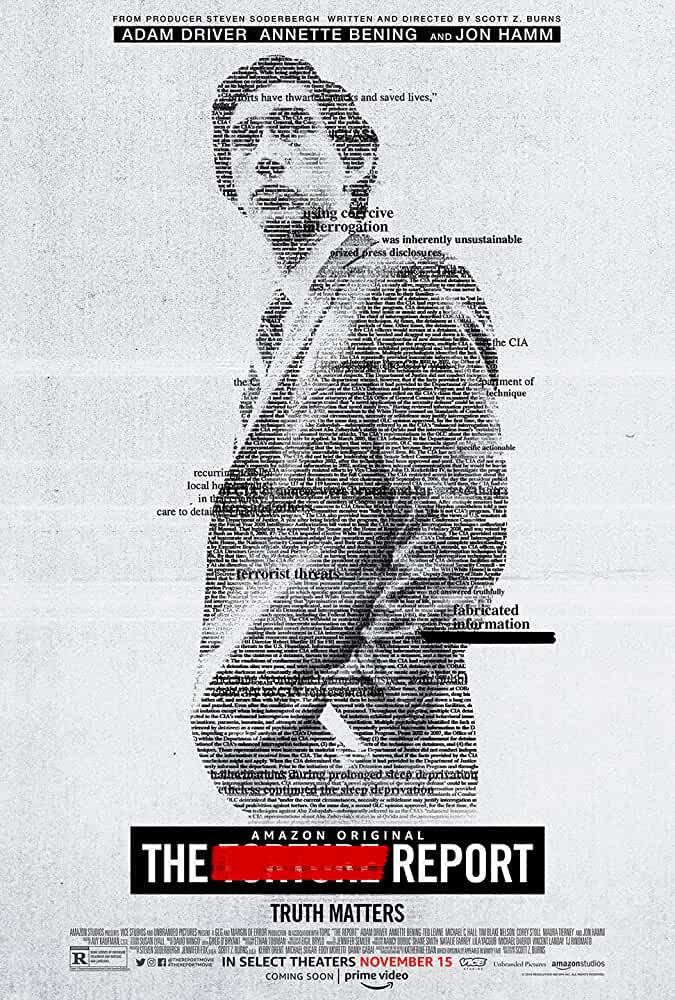 """This movie is real-life story about an idealistic senate staffer Daniel J. Jones, tasked by his boss to lead an investigation into the CIA's post 9/11 Detention and Interrogation Program, who uncovers shocking secrets. I don't think Adam Driver is a great actor, but he does a decent job in this movie. It's available to see on <a href=""""https://www.primevideo.com/detail/0O2TSKQMQO8KX64OZRVAR23PAY/ref=atv_sr_def_c_unkc__1_1_1?sr=1-1&pageTypeIdSource=ASIN&pageTypeId=B081B9B33D&qid=1596174643"""" rel=""""nofollow noopener"""" target=""""_blank"""" data-ylk=""""slk:Prime Video"""" class=""""link rapid-noclick-resp"""">Prime Video</a>. <br>"""