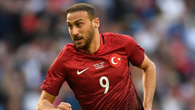 The Toffees boss claims the Turkey international is discussing personal terms as he nears a switch from Besiktas to Goodison Park