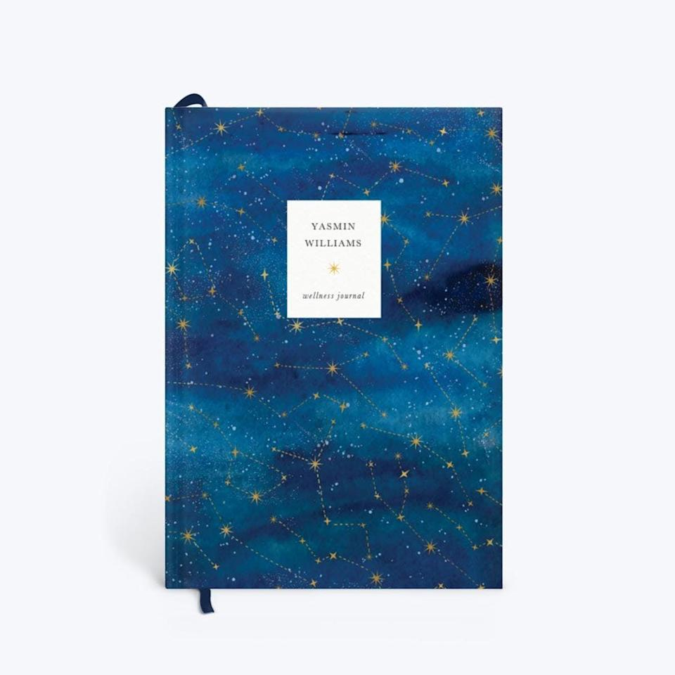 <p>This <span>Papier Constellation Wellness Journal</span> ($33) is gorgeous and easily customizeable.</p>