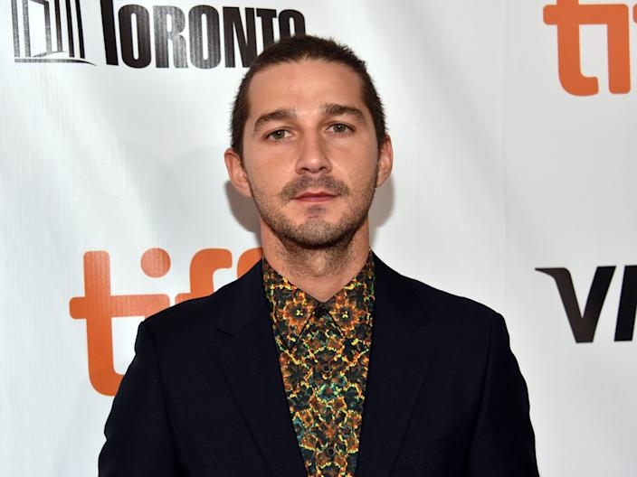 Shia LaBeouf at the the 2017 Toronto International Film Festival.