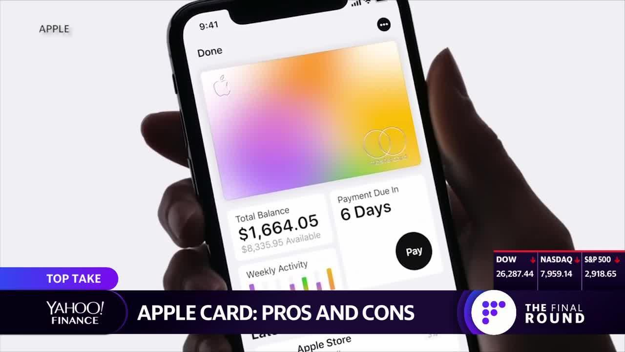 The pros and cons of the new Apple Card