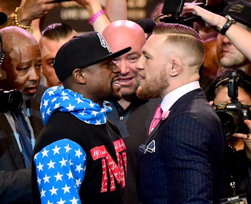Floyd Mayweather, Conor McGregor to kick off four-city hype tour