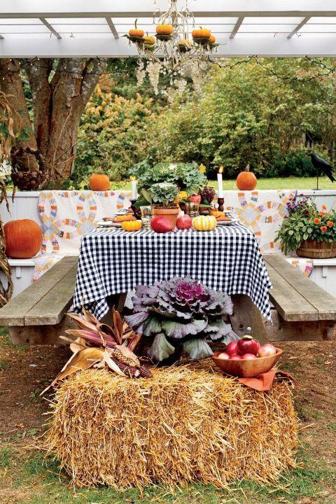 "<p>This is the perfect way to celebrate fall and Halloween all at once.</p><p><strong>Explore <a href=""https://www.countryliving.com/food-drinks/g1031/halloween-menu-ideas/"" rel=""nofollow noopener"" target=""_blank"" data-ylk=""slk:Halloween menu ideas"" class=""link rapid-noclick-resp"">Halloween menu ideas</a>.</strong> </p><p><strong><a class=""link rapid-noclick-resp"" href=""https://www.amazon.com/FloraCraft-Straw-Bale-Inch-Natural/dp/B004XHWKLS/?tag=syn-yahoo-20&ascsubtag=%5Bartid%7C10050.g.4620%5Bsrc%7Cyahoo-us"" rel=""nofollow noopener"" target=""_blank"" data-ylk=""slk:SHOP STRAW BALES"">SHOP STRAW BALES</a></strong></p>"