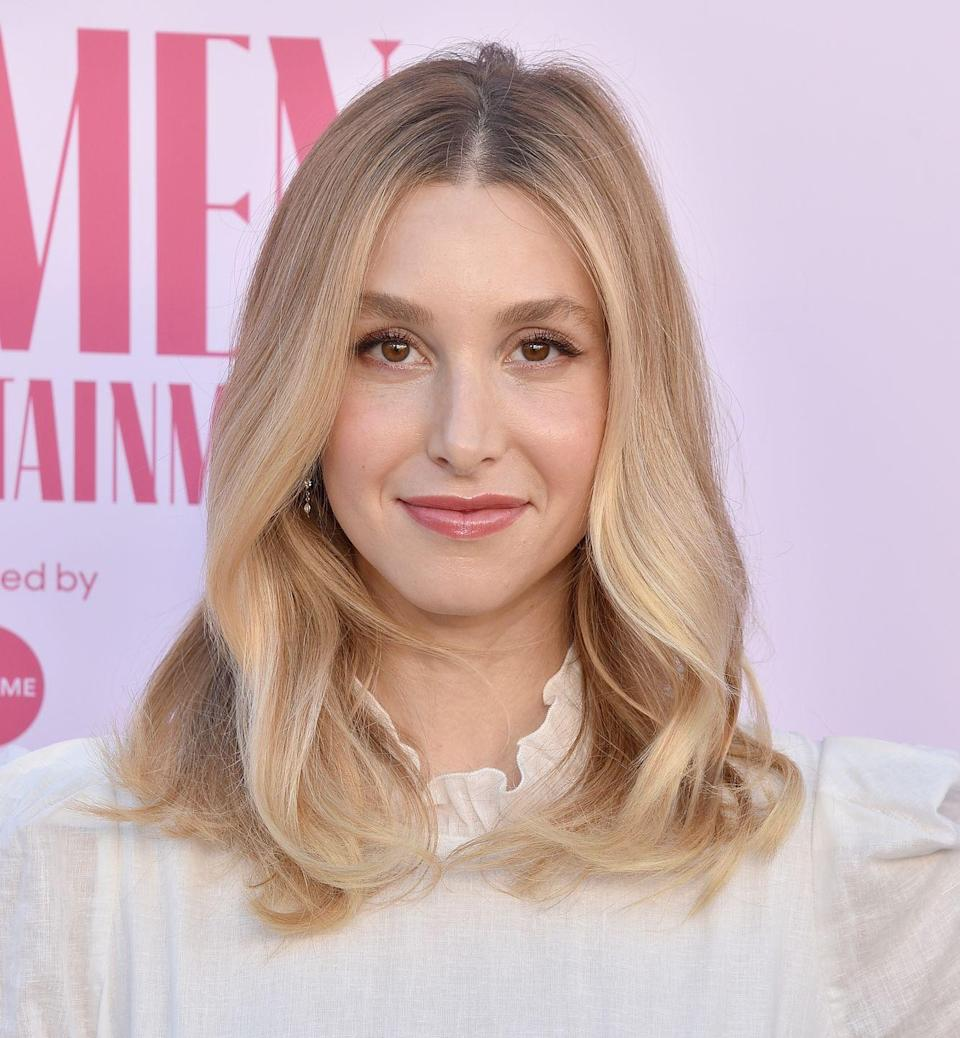 <p>You don't have to immediately go darker just because the summer months are over. Take a note from television personality <strong>Whitney Port </strong>and ask your stylist for ribbons of blonde, so you can remember those blissfully long days.</p>